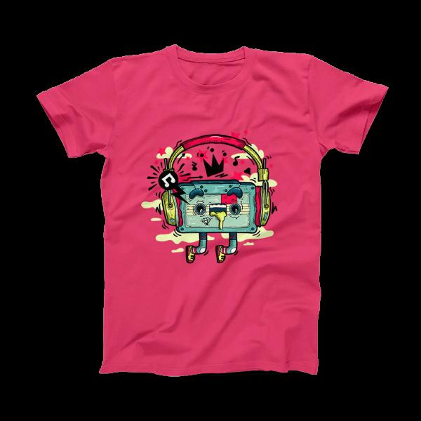 Tricou Unisex MUZICA Pink Punch