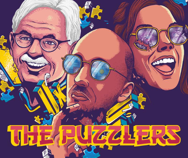 The Puzzlers Web Illustration Illustrescu