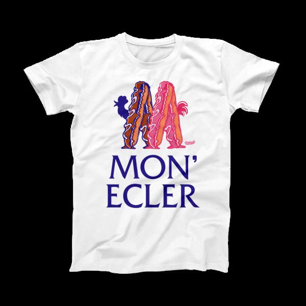 Tricou Unisex MonEcler Alb
