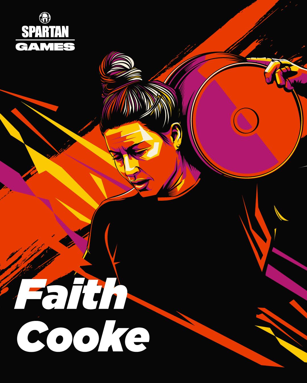 Faith Cooke Spartan Games