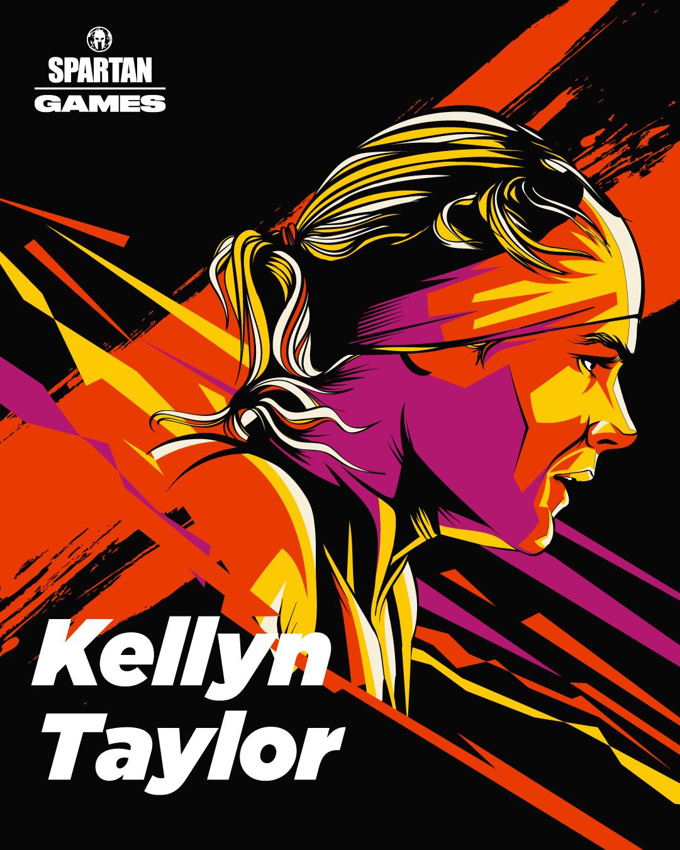 Kellyn Taylor Spartan Games