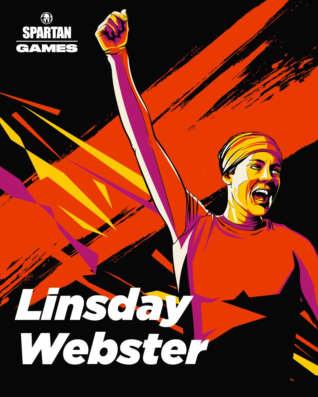 Linsday Webster Spartan Games